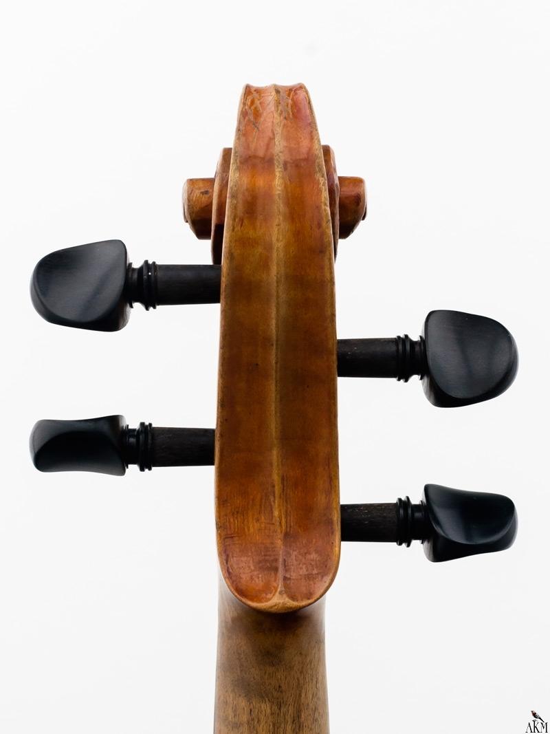 Violine Herwig - Schnecke-hinten