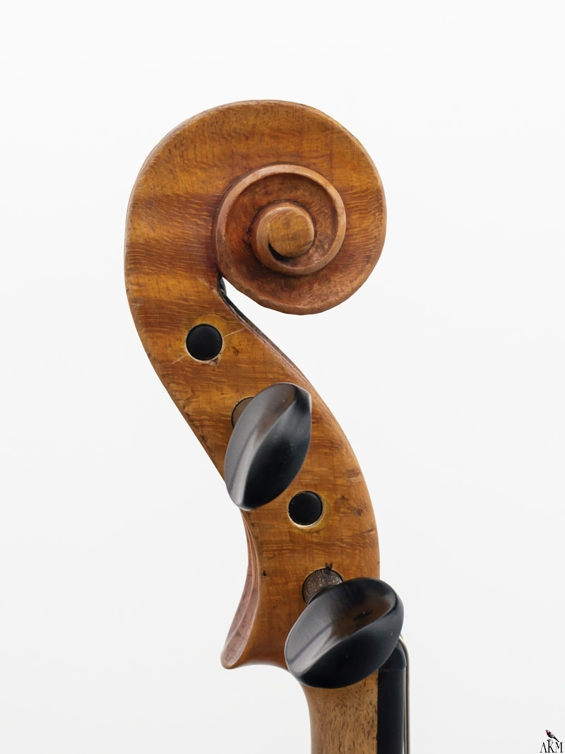 Violine Herwig - Schnecke-links