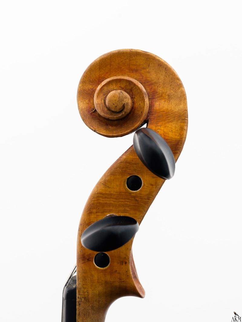 Violine Herwig - Schnecke-rechts