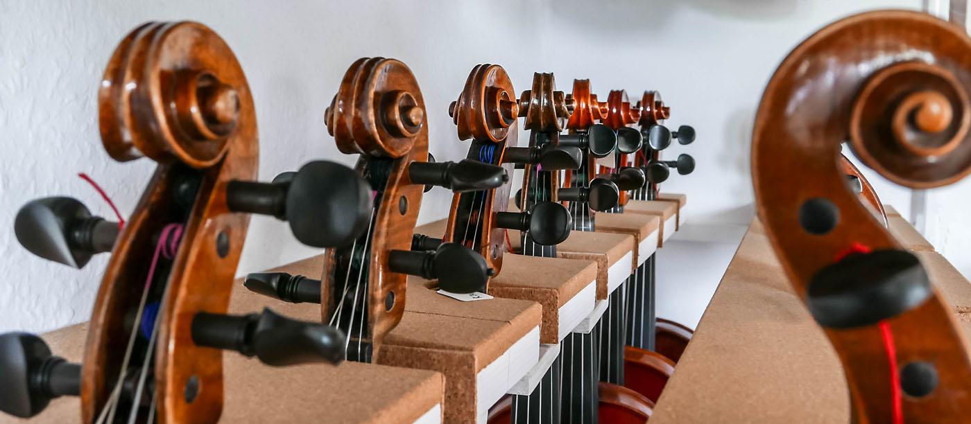 Atelier für Streichinstrumentenbau MeineLGeigen Leipzig