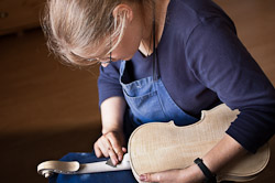 Master Violinmaker Anna Karoline Meinel