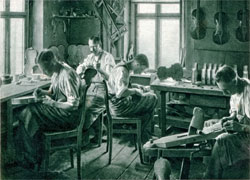 Werkstatt Geigenbauer Carl Oswald Meisel Klingenthal