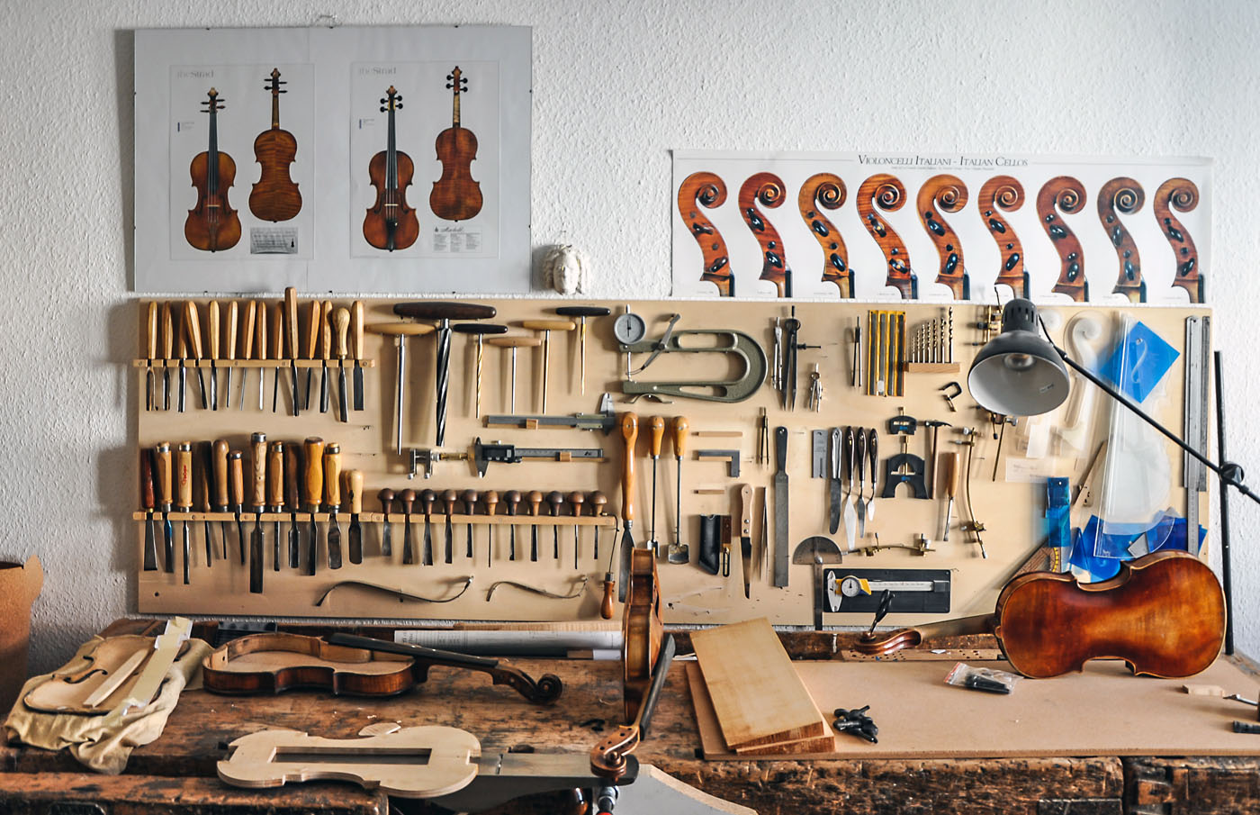 Atelier MeineLGeigen Geigenbau Werkstatt