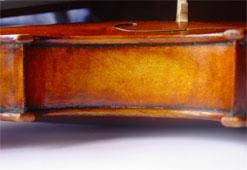 Reparatur Violine Zarge MeinelGeigen
